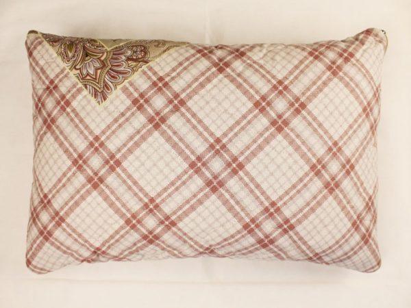 Фото 9 - Подушка льняная стёганая 40*60 см.