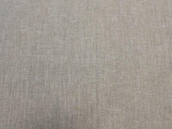 Фото 7 - Льняная ткань для постельного белья серая меланжевая, ширина 220 см.