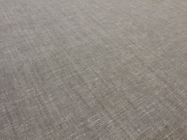 Фото 6 - Льняная ткань для постельного белья серая меланжевая, ширина 220 см.
