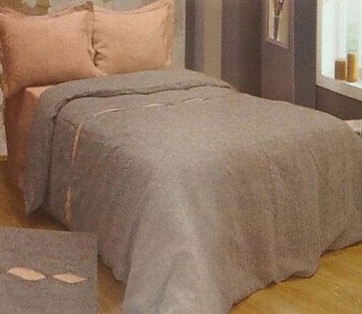 """Фото 3 - Комплект постельного белья из льна """"Загадка"""", евро."""