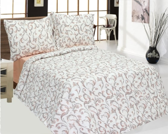 Фото 3 - Комплект постельного белья из 100% льна 1,5 сп.