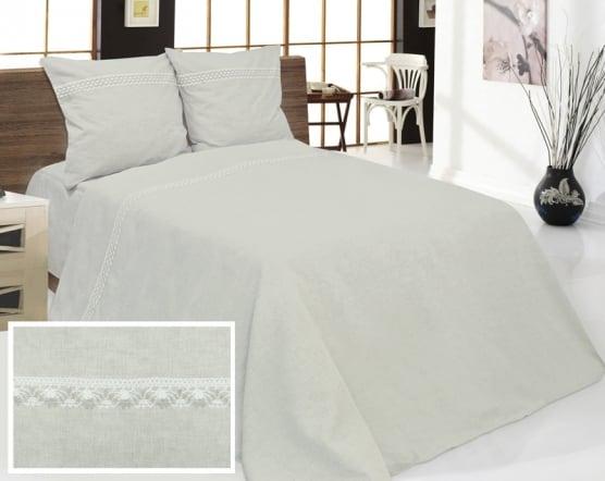 Фото 3 - Комплект постельного белья льняной 1.5 спальный.