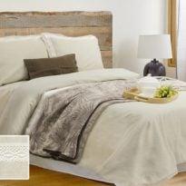 Фото 17 - Комплект постельного белья льняной евро.
