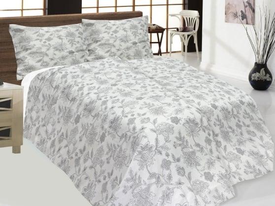 """Фото 3 - Комплект постельного белья лен 100% """"Оранжерея"""", семейный."""