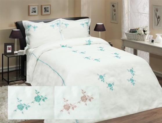 Комплект постельного белья из 100% льна евро