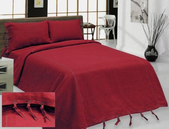 """Фото 3 - Комплект постельного белья льняной """"Деним"""" 2 спальный."""