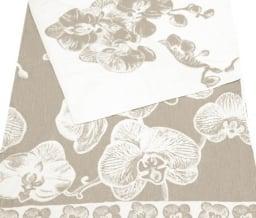 """Фото 3 - Простыня махровая со льном """"Орхидея""""."""
