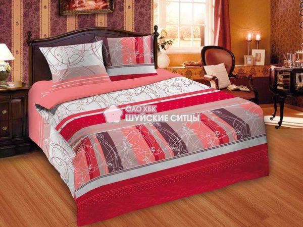 Фото 3 - Комплект постельного белья MOD`S Поплин 82001.