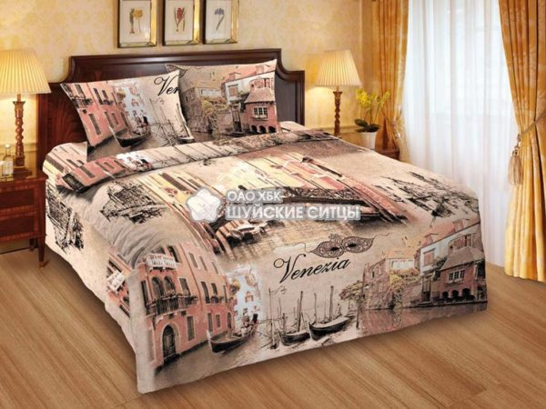 Фото 3 - Комплект постельного белья MOD`S Поплин 79401.