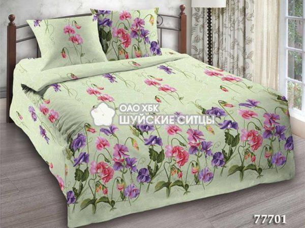 Фото 3 - Комплект постельного белья  Креп De Luxe 77701.