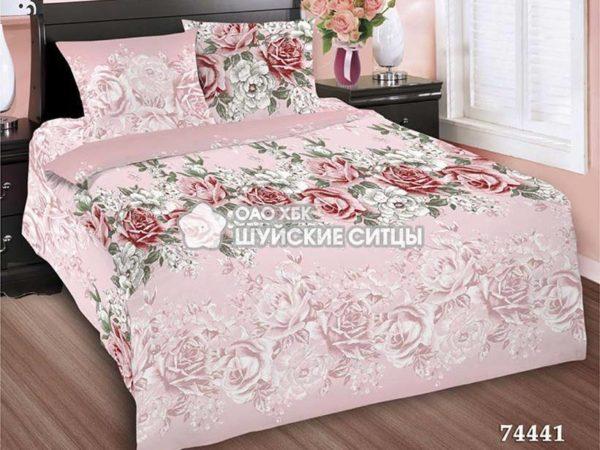 Комплект постельного белья  Креп De Luxe 74441