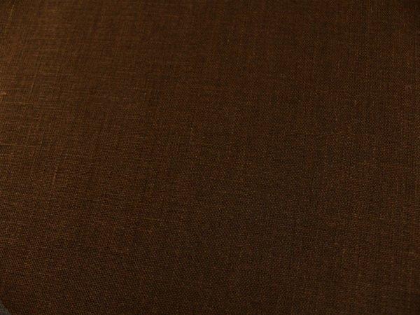 Фото 5 - Ткань умягченная  лен 100% темно-коричневый ширина 150см.