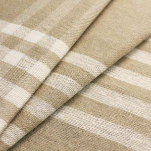 Льняная ткань для покрывал и пледов