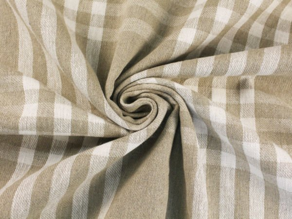 Фото 9 - Ткань льняная для пледов(лоскут).