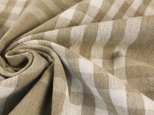 Ткань льняная для пледов(лоскут)