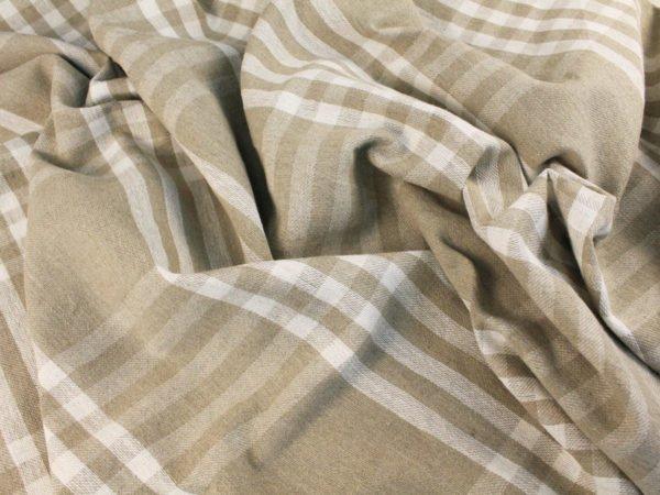 Фото 5 - Ткань льняная для пледов.