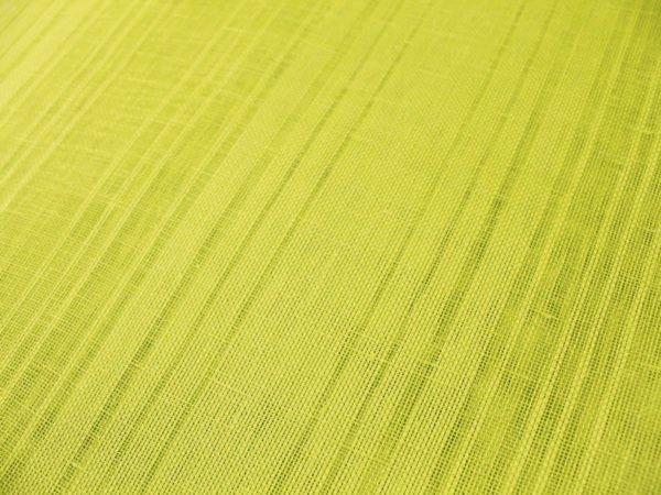 Фото 7 - Ткань льняная декоративная, цвет лайма, ширина 2,0.