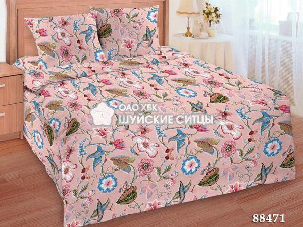 Фото 3 - Комплект постельного белья  Креп De Luxe 88471.