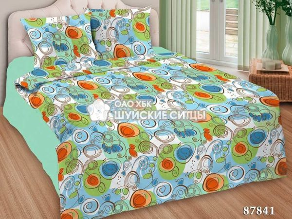 Комплект постельного белья  Креп De Luxe 87841
