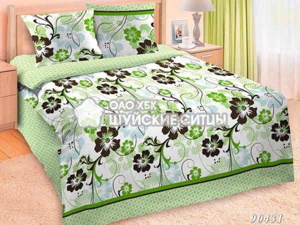 Фото 3 - Комплект постельного  Шуйский Классический (ситец) 90431.