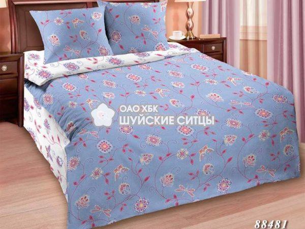 Фото 3 - Комплект постельного  Шуйский Классический (ситец) 88481.