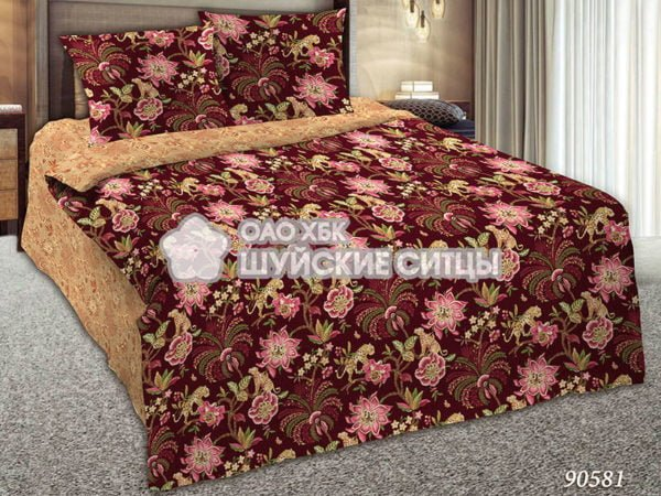 Комплект постельного  Шуйский Классический (ситец) 90581