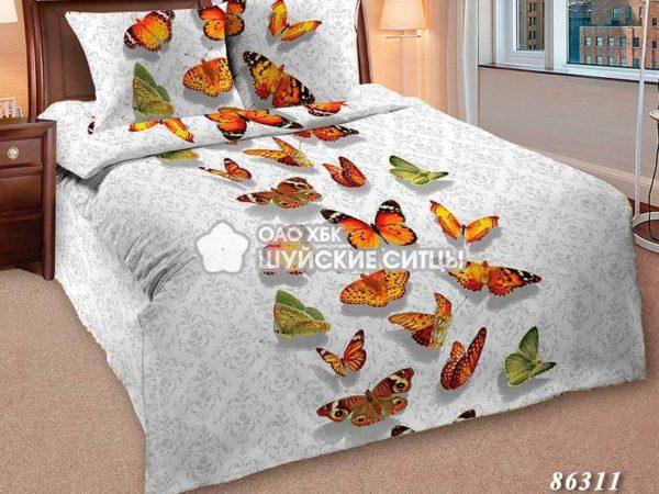 Фото 3 - Комплект постельного  Шуйский Классический (ситец) 86311.