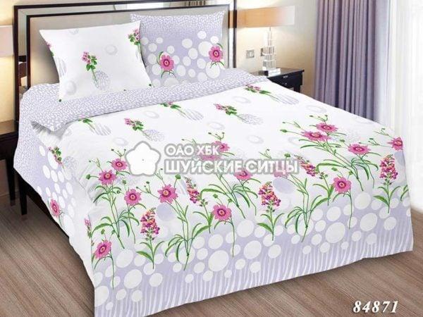 Фото 3 - Комплект постельного  Шуйский Классический (ситец) 84871.