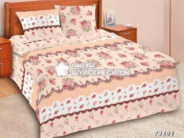 Фото 3 - Комплект постельного  Шуйский Классический (ситец) 79801.