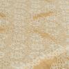 """Фото 10 - Скатерть льняная """"Кружевная"""" бежевая 170*240."""
