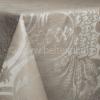 """Фото 8 - Скатерть льняная """"Шелк"""" шоколадно-бежевая 178*229."""