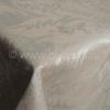 """Фото 9 - Скатерть льняная """"Шелк"""" шоколадно-бежевая 178*229."""
