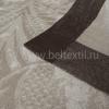 """Фото 12 - Скатерть льняная """"Шелк"""" шоколадно-бежевая 178*229."""