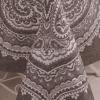 """Фото 9 - Скатерть лен 100% """"Бахчисарай"""" шоколадная 178*178."""