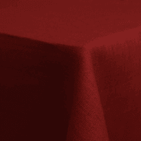 Фото 18 - Скатерть льняная бордовая 144*250.
