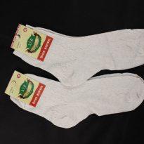 Носки женские, лен с крапивой