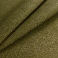 Фото 15 - Ткань льняная  цвет табака, умягченная лен 100%.