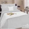 Фото 4 - Комплект постельного белья 100% лен евро серый.