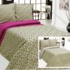 """Фото 4 - Комплект постельного белья льняной """"Цветы"""" серый 1.5 спальный."""