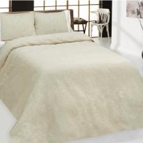 Фото 11 - Комплект постельного белья 100% лен евро серый с белым.