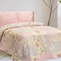 """Фото 15 - Комплект постельного белья льняной """"Пэчворк"""" 2 спальный."""