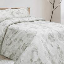"""Фото 22 - Комплект постельного белья льняной """"Аврора-3"""" серый."""