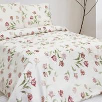 """Фото 7 - Комплект постельного белья 100% лен """"Поле тюльпанов-2""""."""