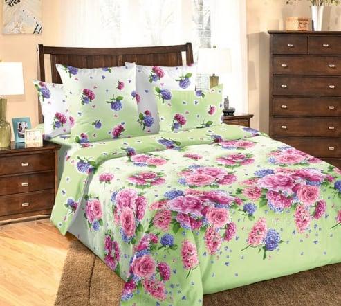 Фото 3 - Комплект постельного белья Лаура перкаль.