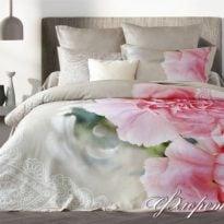 "Фото 14 - Комплект постельного белья ""Флоретти"", евро, сатин жаккард."