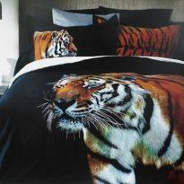 """Фото 20 - Комплект постельного белья """"Тигр"""", сатин жаккард, 2сп."""