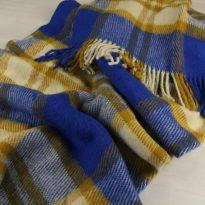 Шерстяные пледы и одеяла