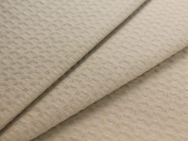 Фото 3 - Ткань вафельная цвет беж.
