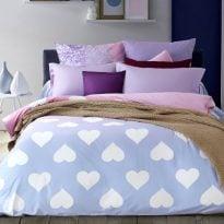 """Фото 12 - Комплект постельного белья """"Amore"""", сатин."""