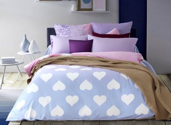 """Фото 3 - Комплект постельного белья """"Amore"""", сатин."""